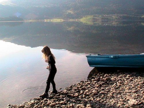 Norway fjord lake peaceful