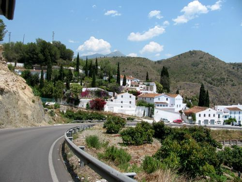 Andalusia beautiful white village