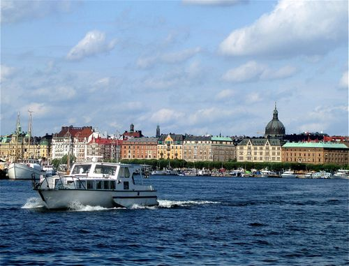 Stockholm Sweden boats beautiful