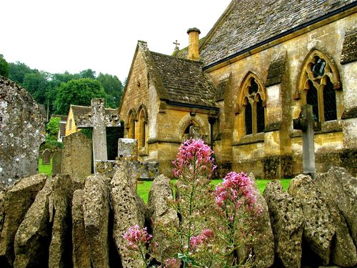 Family Travel Photo - England Cotswolds, Church, Heart of England