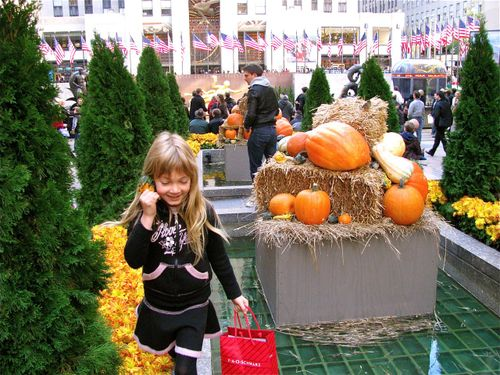 Rockerfeller Center Autumn, halloween