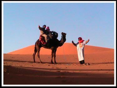 Sahara camel trek, Morocco with kids