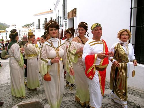 world's best Carnival, Spain, Andalusia, white village, Roman