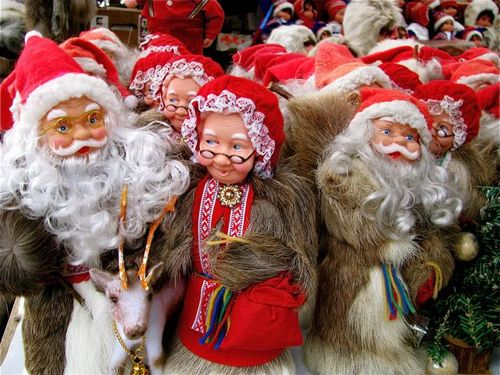 Santa Clause Mrs Clause Scandinavia Norway Europe