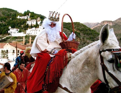3 kings Spain, Andalusia, festival, holiday, Los Reyes Magos, Christmas Epiphany