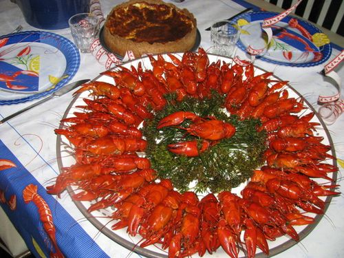 Crayfish, platter, foodie, food, party, Sweden, tradition