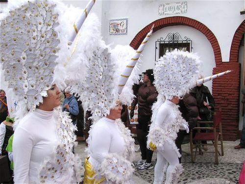 Carnival costumes parade spain andalusia