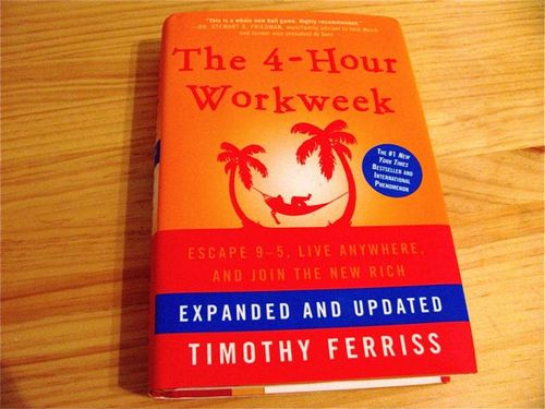 The 4-Hour Workweek book, 4HWW, Tim Ferriss