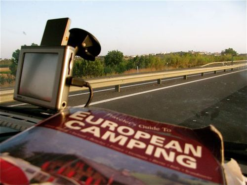 Camping Europe road trip best books