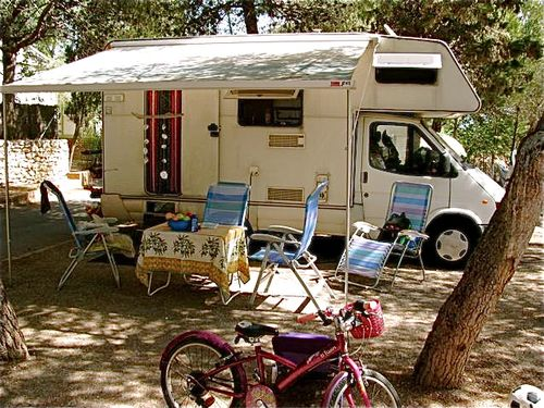 Camping Europe road trip Barcelona beach resort soultravelers3
