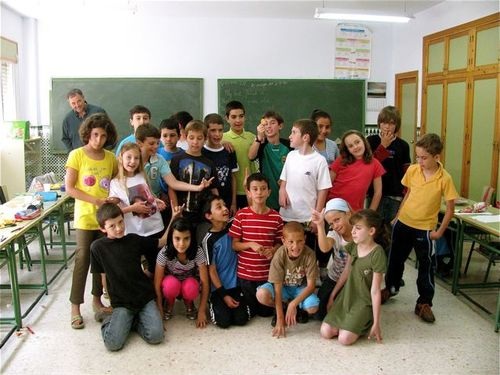 schools out for summer in Spain