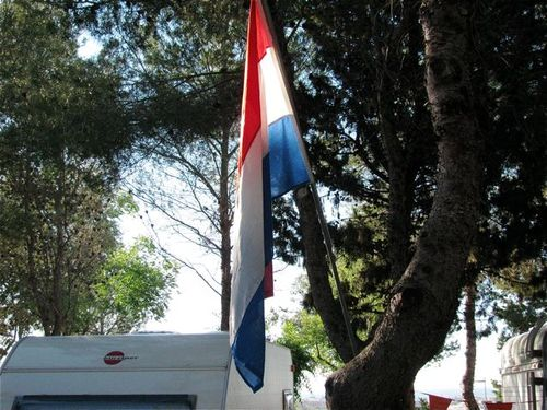 world cup in Europe flags in Europe campground