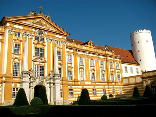 Stift Melk ( Melk Abbey) in Austria