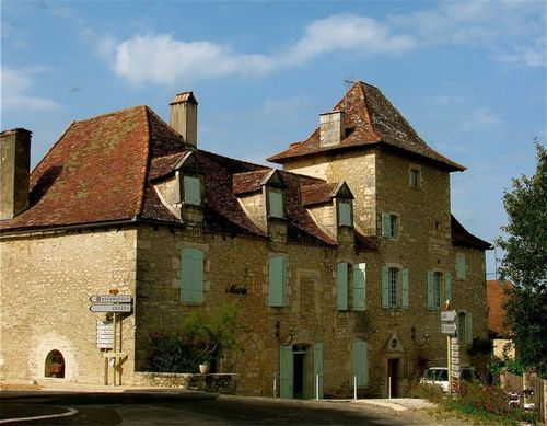 Beautiful French architecture