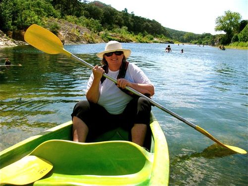 Pont du Gard park Provence France canoeing