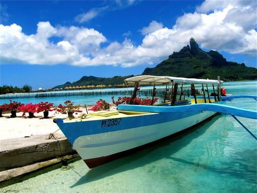beautiful bora bora on budget