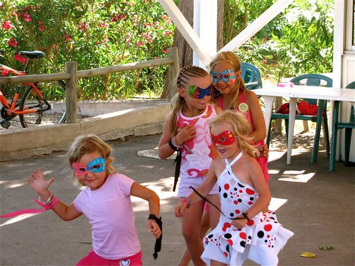 family travel in Europe & abroad camping kids club fun