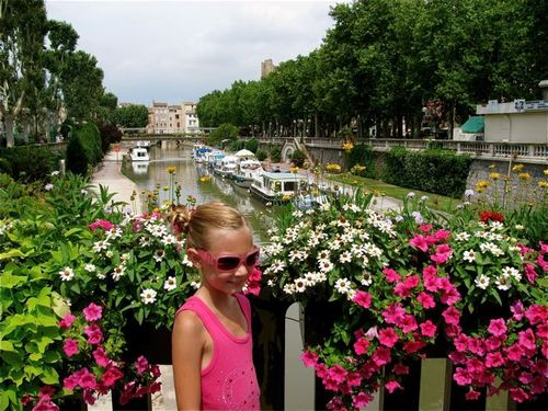 family travel France Narbonne, Provence