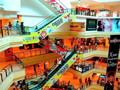 Asia mall in Penang, Malaysia