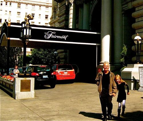Family travel San Franciso at family friendly hotel Fairmont San Francisco