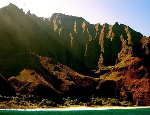 Beautiful Na Pali coast