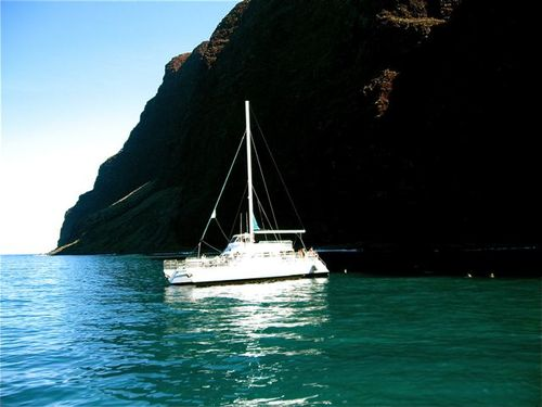 sailing Na Pali coast