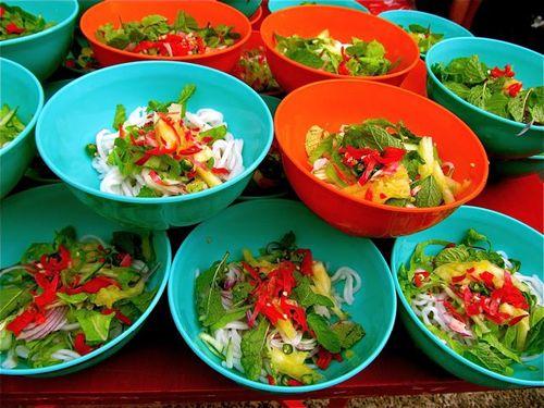 Popular Penang Malaysia dish Laksa