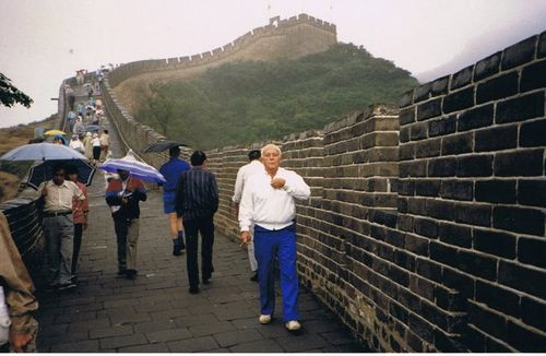 walking the Great Wall in China