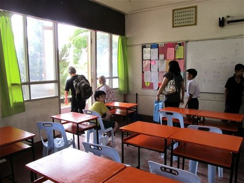 Private Chinese high school in Penang on orientation day