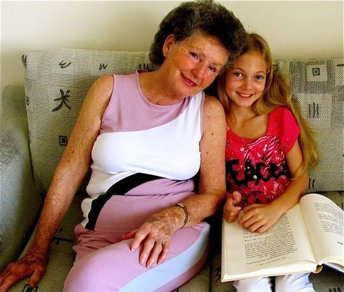 Grandma and her baby