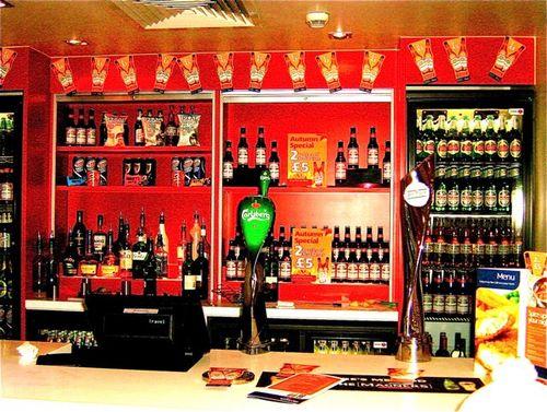 bar at travelodge london waterloo