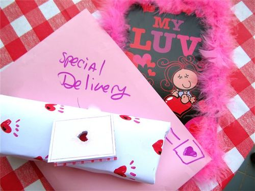 Valentine's Day love and presents