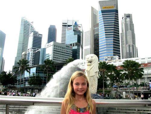 Child's view of Singapore