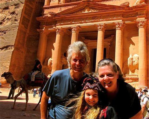 family vacation  Petra, Jordan