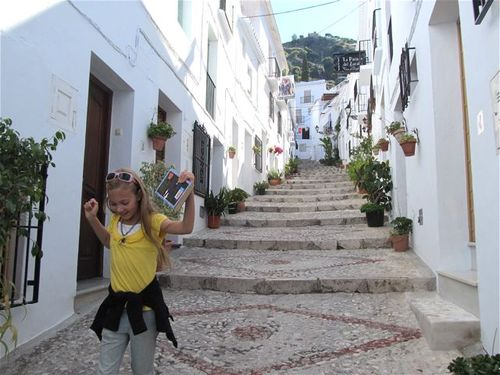 joy in our southern Spain village