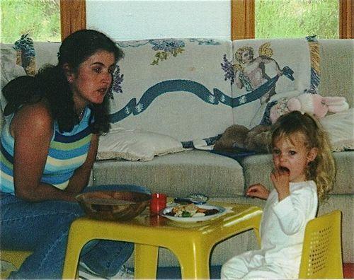 language learning toddler with native Spanish speaking babysitter