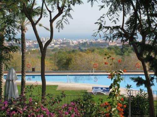 nomadic travel in Barcelona resort