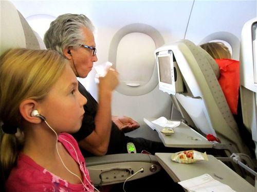 leaving on a jet plane, family travel