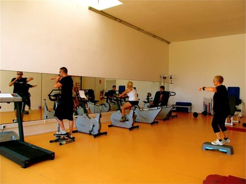 exercise gyms while traveling