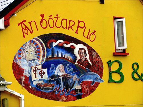 Family travel Ireland: Photo Gaelic Colors