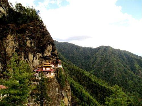 Taktsang Palphug Monastery or Tiger's Nest Bhutan
