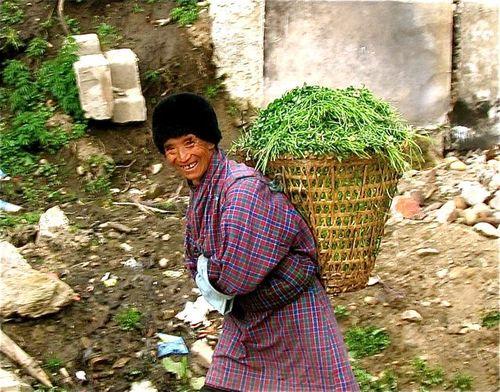 Bhutan smiling man