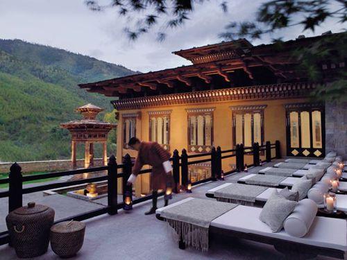 Taz Tashi Thimpu Bhutan Outdoor Deck