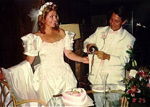 a magical small wedding 20 years ago