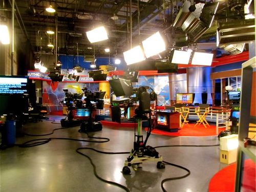 Fox News TV studio