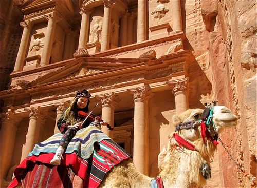 beautiful petra jordan photo/ family vacation jordan