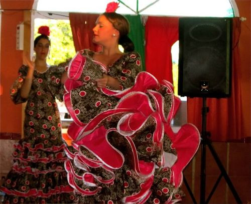 flamenco dancers in southern Spain