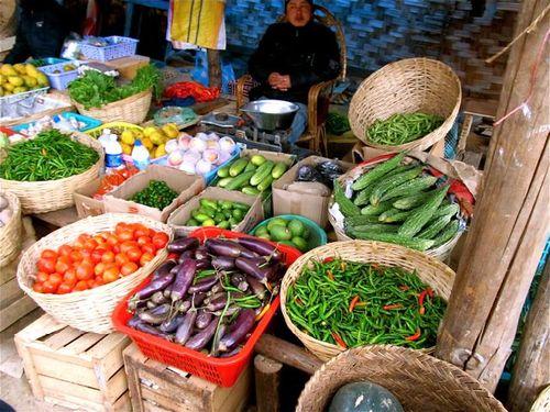 bhutan food market