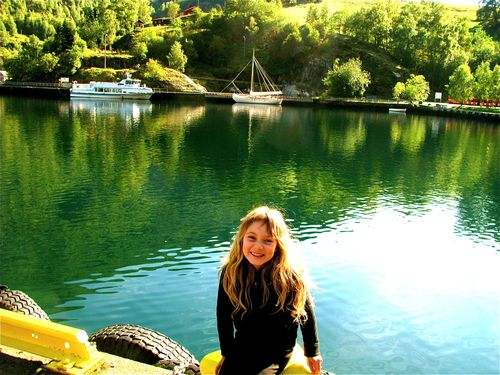 enjoying norway fjords on a budget