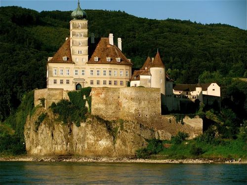 Austria wine country castle in Melk